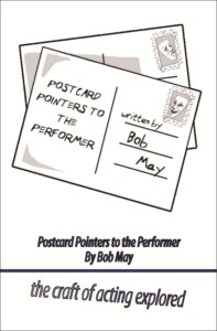 POSTCARD POINTERS TO THE PERFORMER